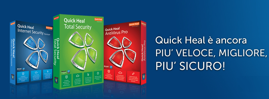 antivirus in italiano quick heal
