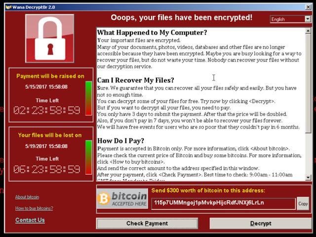 ransomware wannacry come difendersi